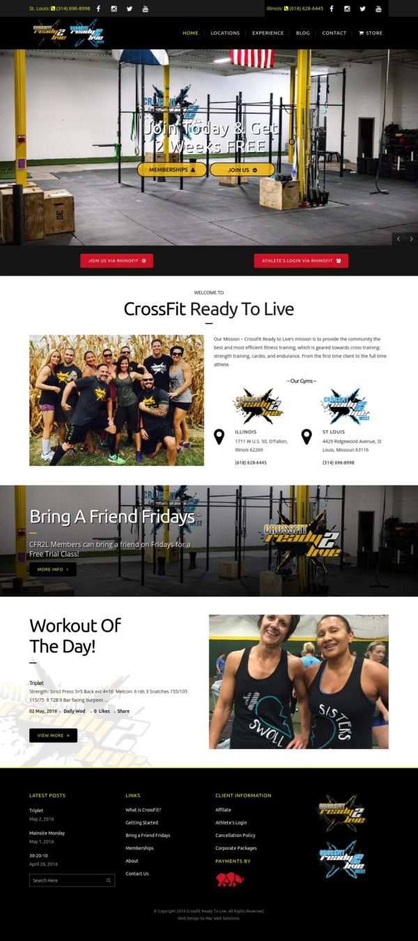 CrossFit Ready To Live