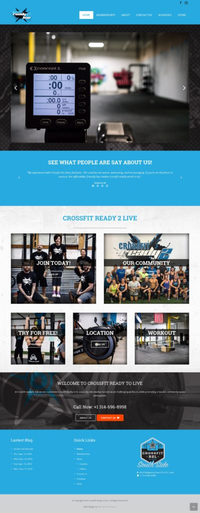 crossfit ready 2 live
