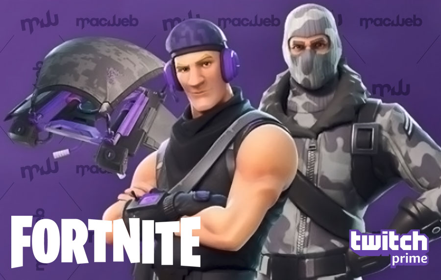 free fortnite skins and glider with twitch prime