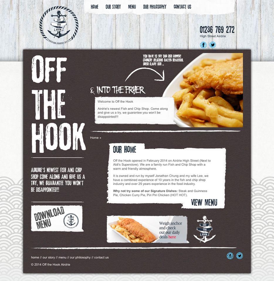 Off The Hook Website